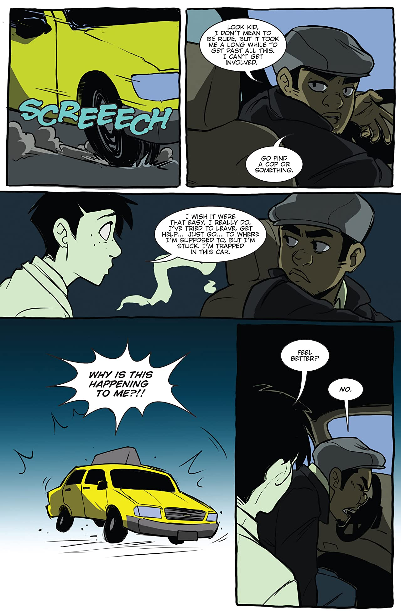 Cyrus Perkins and the Haunted Taxi Cab #2