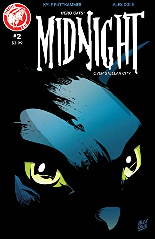 Hero Cats: Midnight over Stellar City No.2