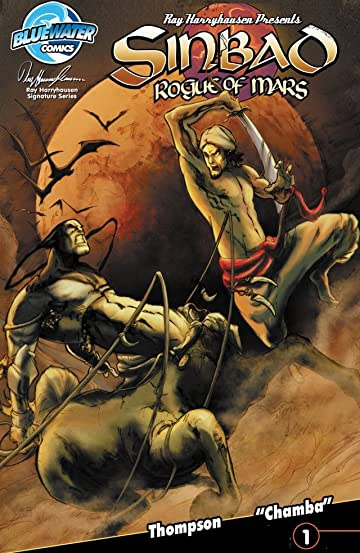 Ray Harryhausen Presents: Sinbad - Rogue of Mars #1