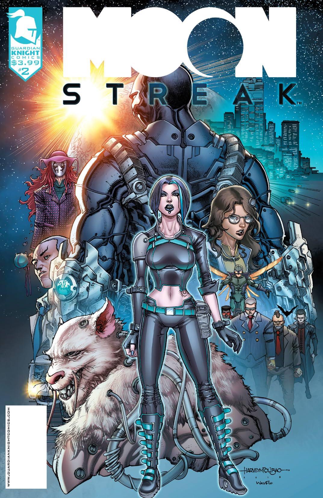Moon Streak #2