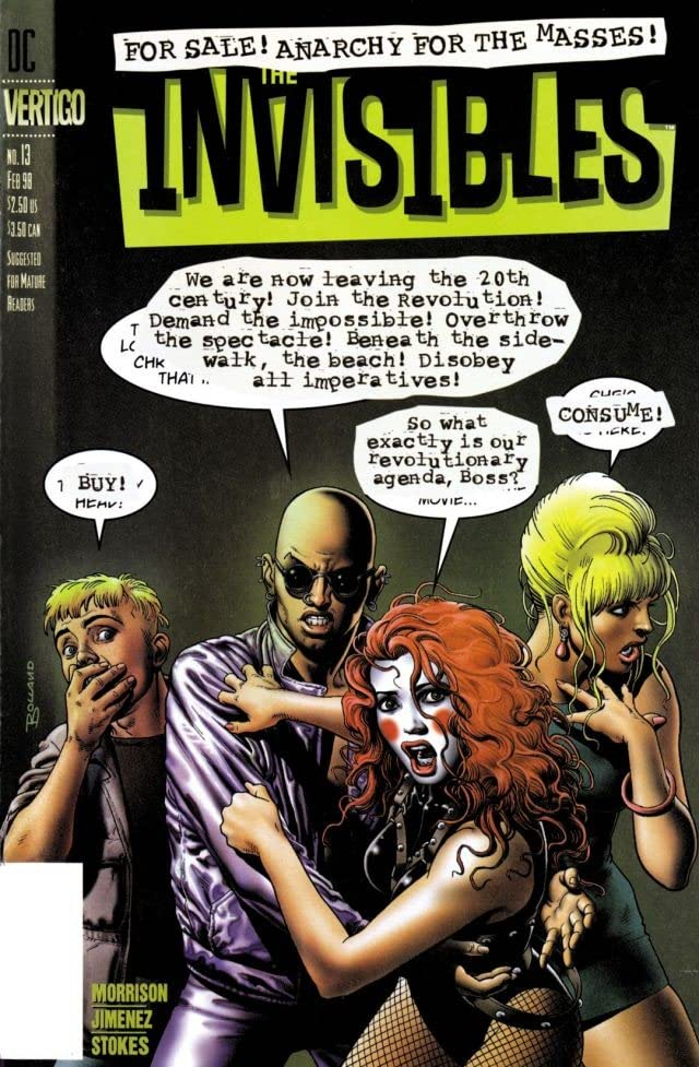 The Invisibles Vol. 2 #13