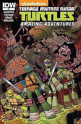 Teenage Mutant Ninja Turtles: Amazing Adventures #4