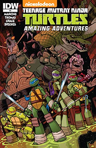 Teenage Mutant Ninja Turtles: Amazing Adventures #4