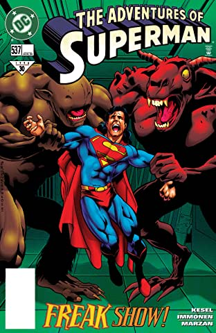 Adventures of Superman (1986-2006) #537