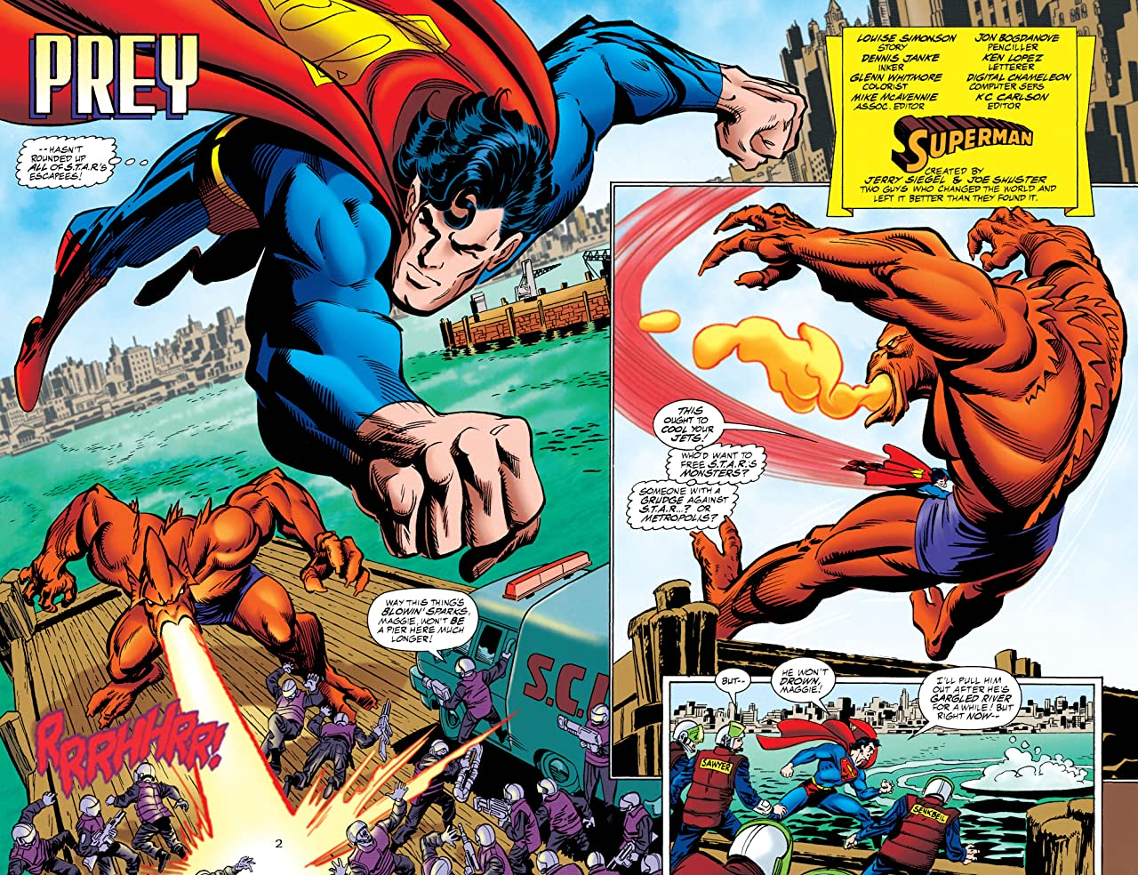Superman: The Man of Steel (1991-2003) #59