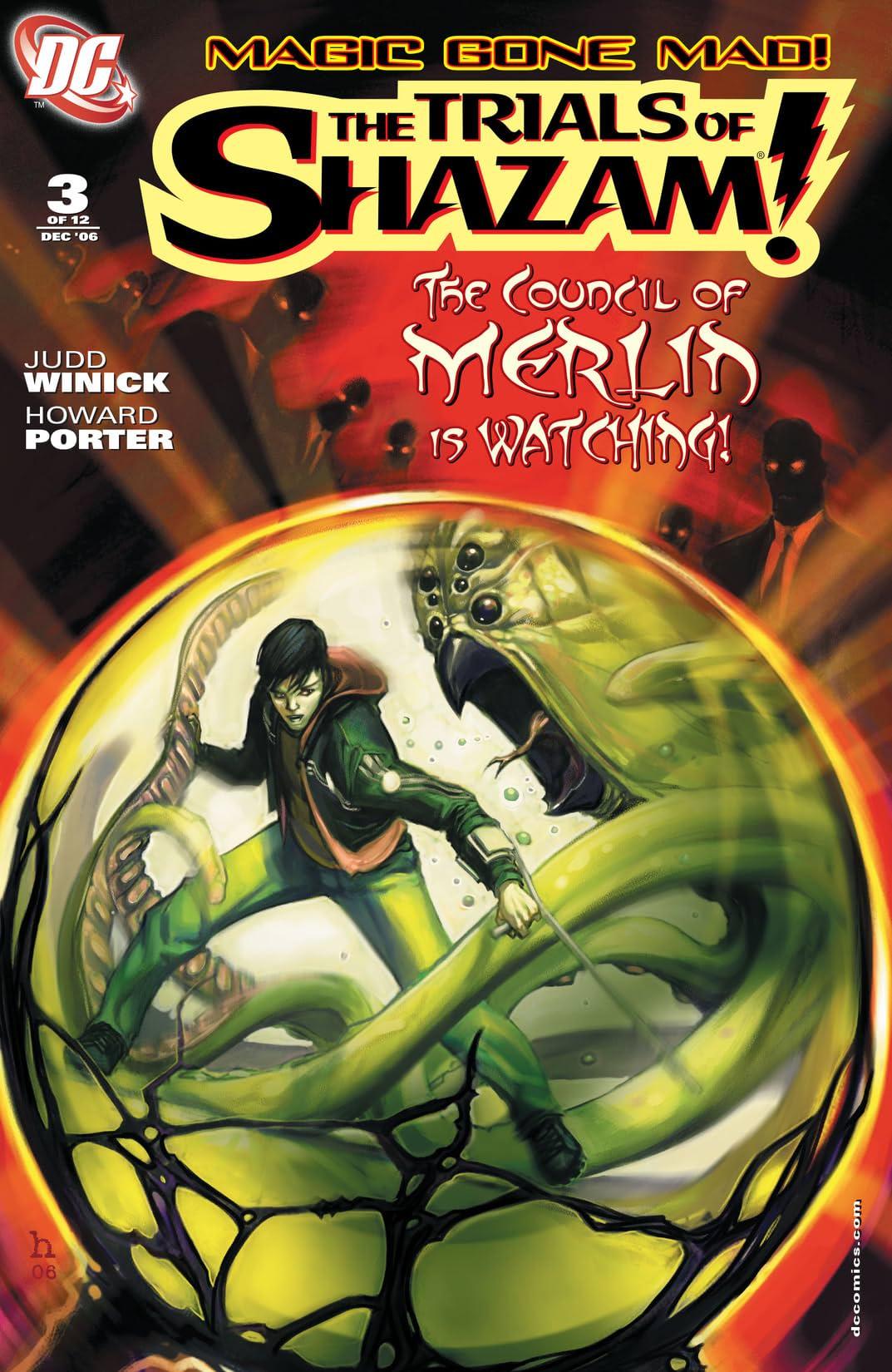 Trials of Shazam (2006-2008) #3