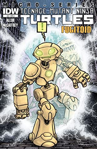 Teenage Mutant Ninja Turtles Micro Series #8: Fugitoid