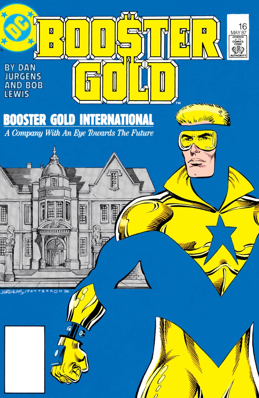 Booster Gold (1986-1988) #16