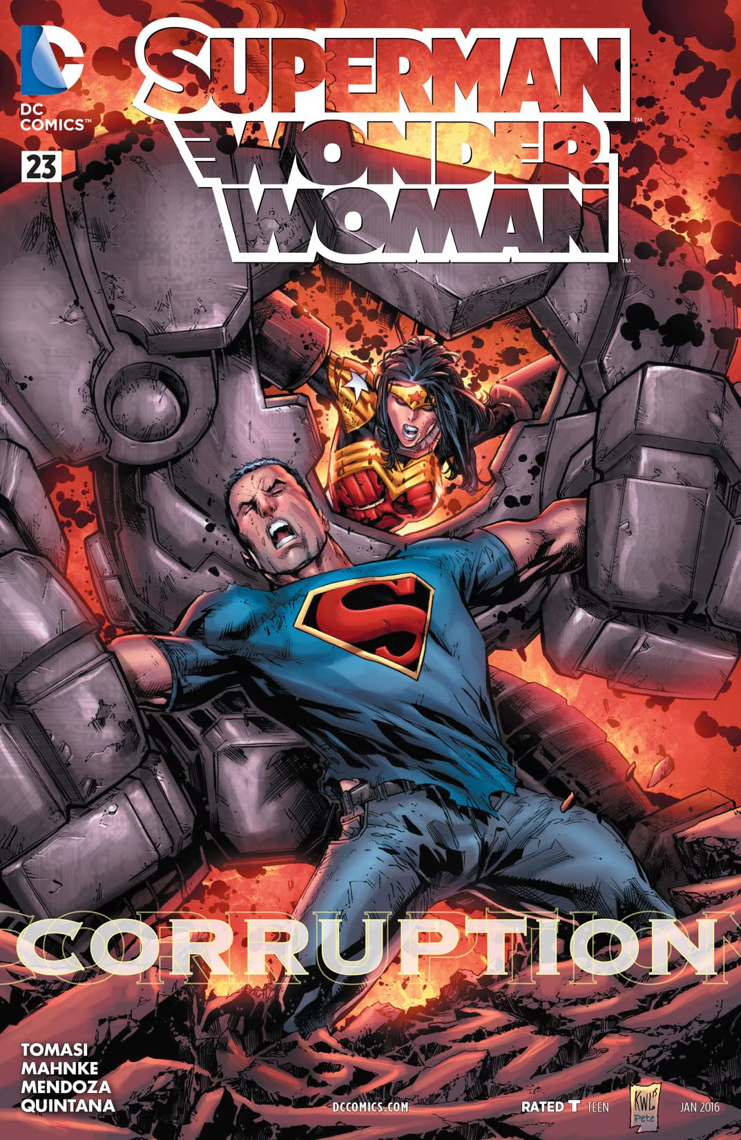 Superman/Wonder Woman (2013-2016) #23