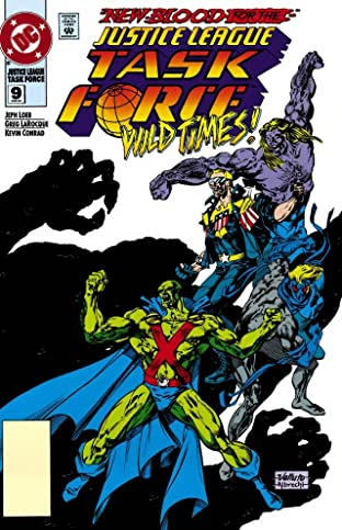 Justice League Task Force (1993-1996) No.9