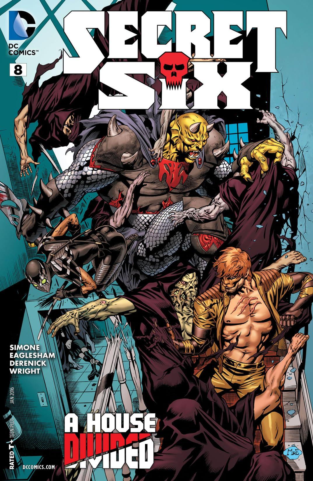 Secret Six (2014-2016) #8