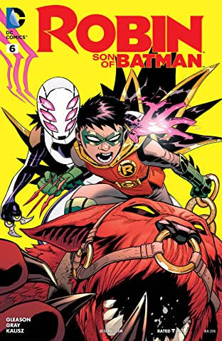 Robin: Son of Batman (2015-2016) #6