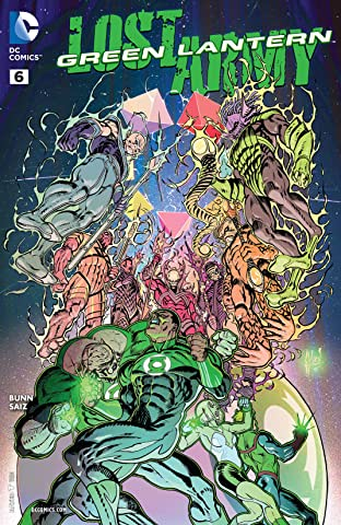 Green Lantern: Lost Army (2015-) #6