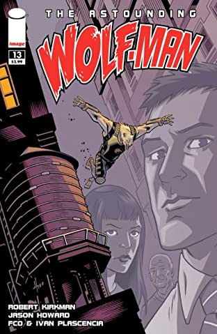The Astounding Wolf-Man #13