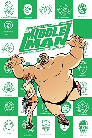 The Middleman Vol. 2 #2