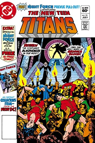 New Teen Titans (1980-1988) #21