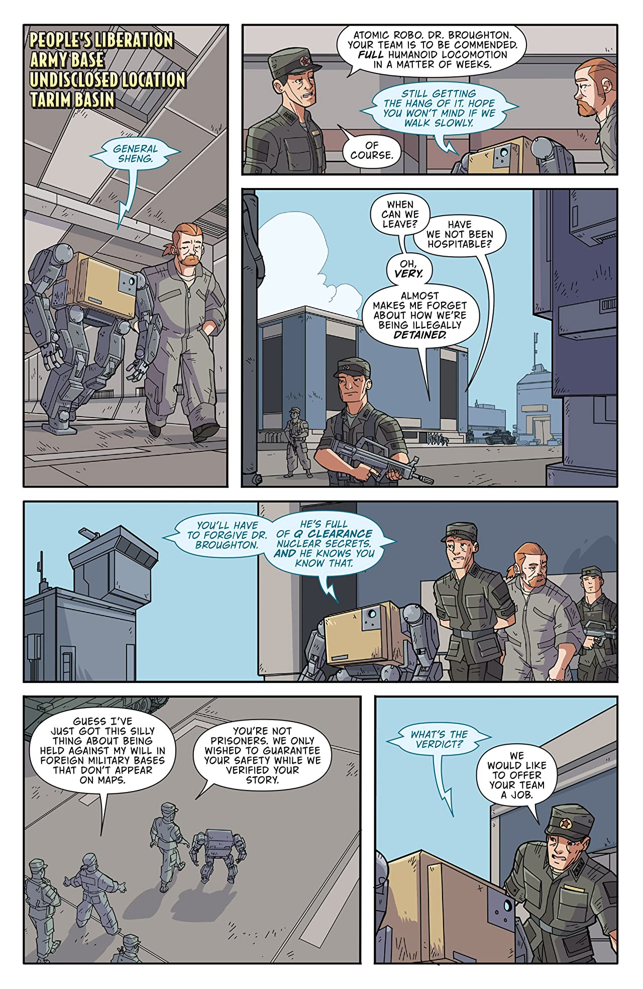 Atomic Robo and the Ring of Fire #3