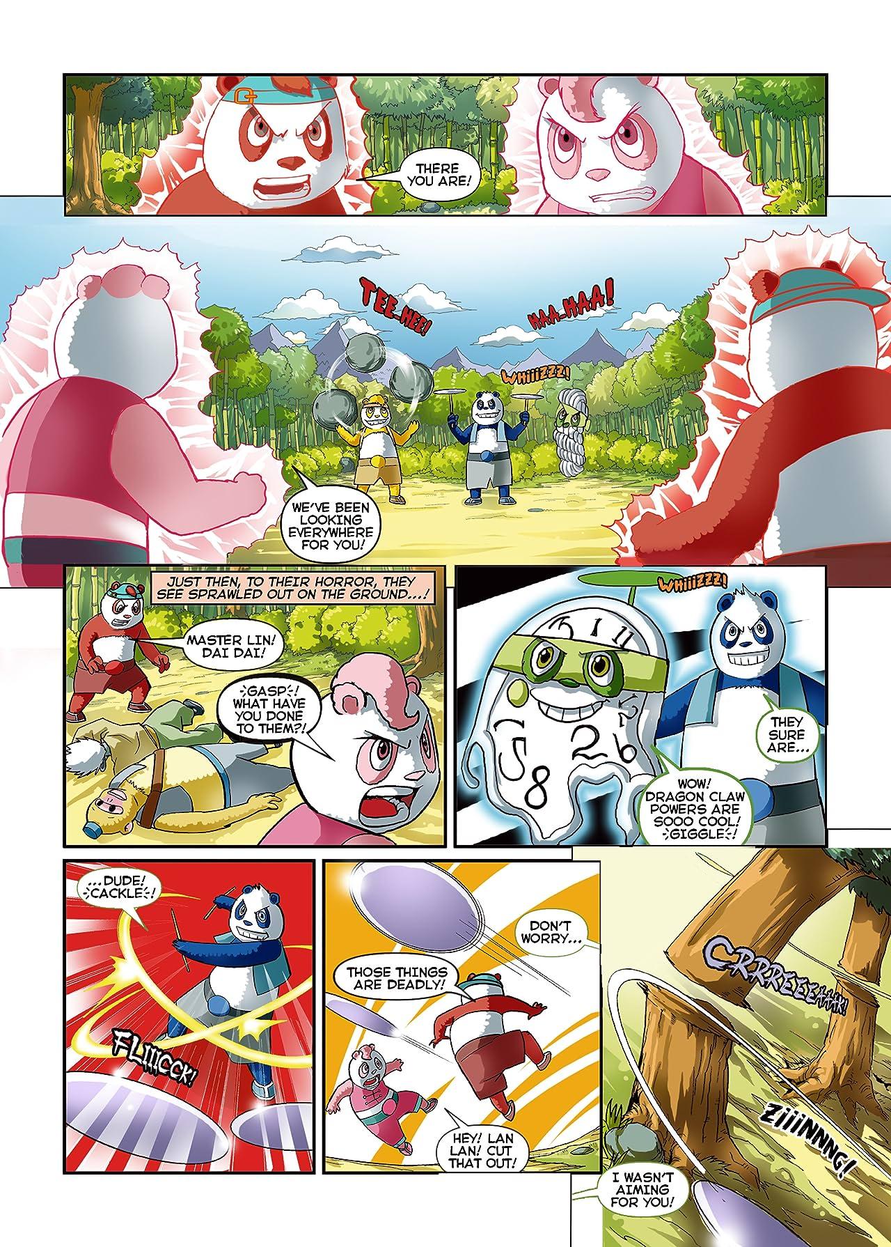 Po Li Pandas Dragon Claw Heroes #2
