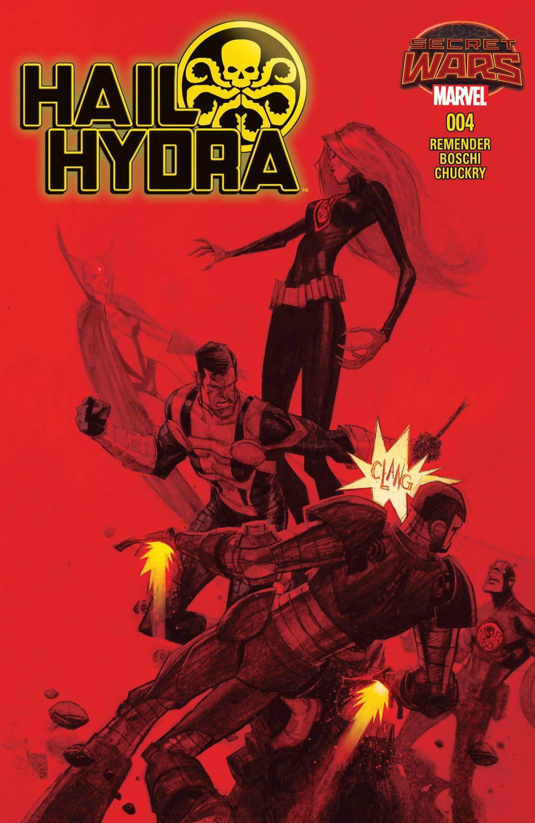 Hail Hydra (2015) #4