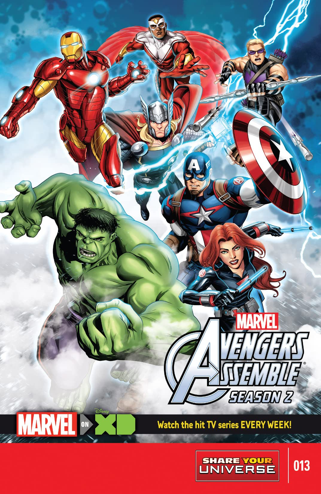Marvel Universe Avengers Assemble Season Two (2014-2016) #13