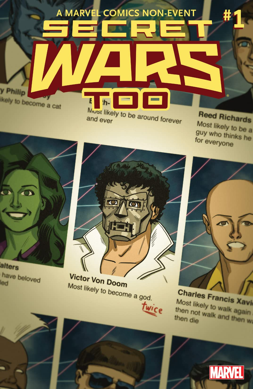Secret Wars, Too (2015) No.1