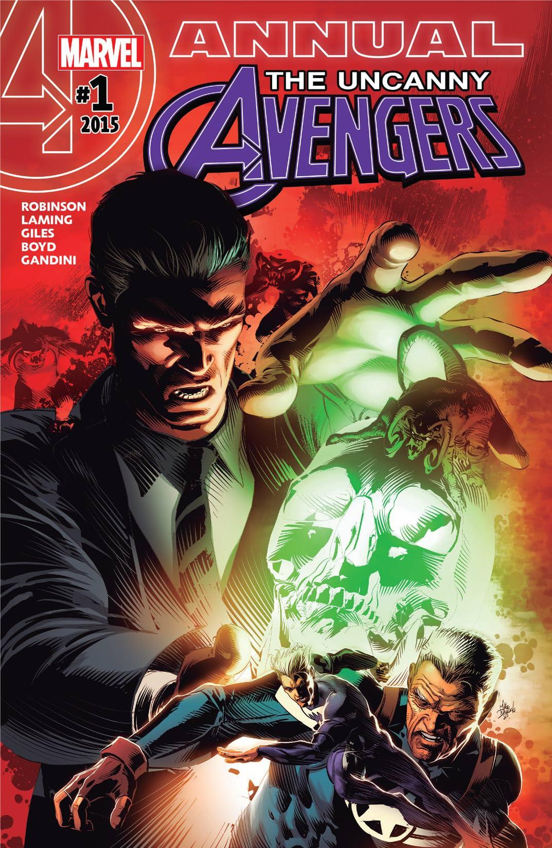 Uncanny Avengers (2015-2017) Annual #1