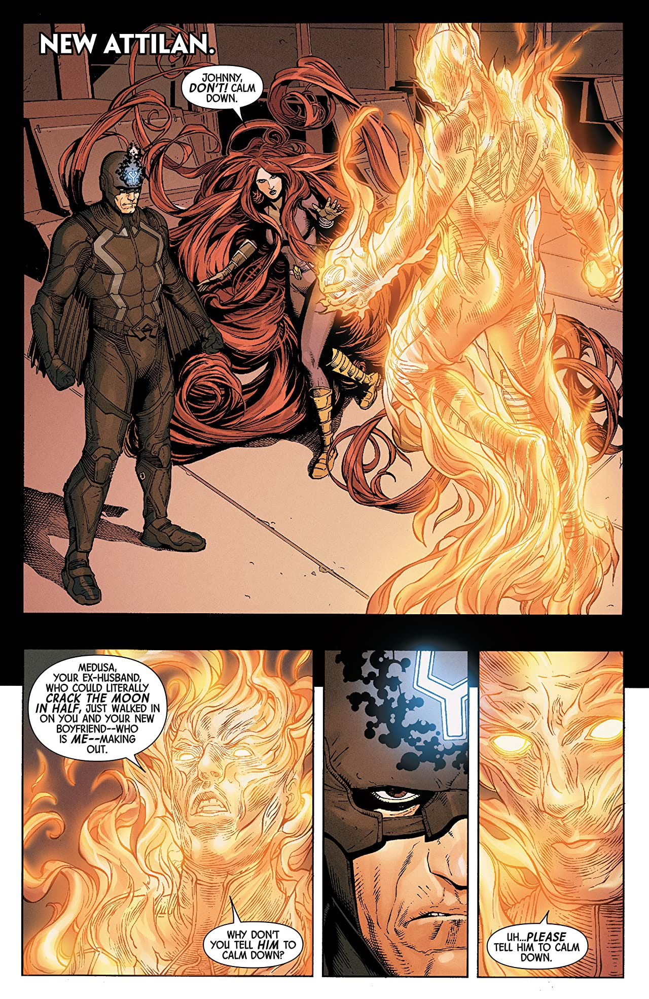 Uncanny Inhumans (2015-2017) #2