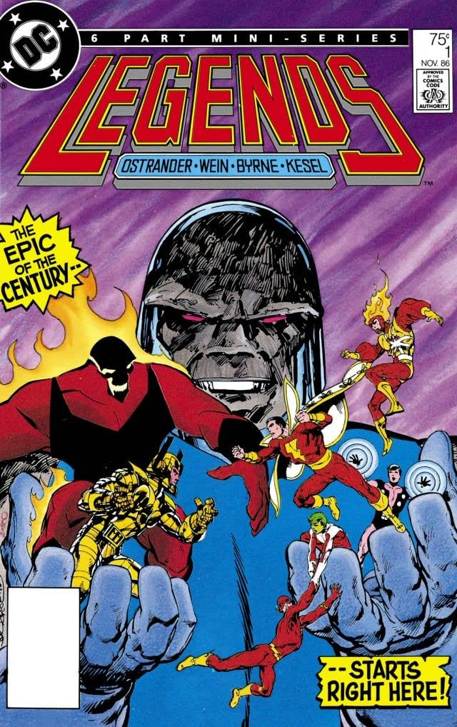 Legends (1986-1987) #1