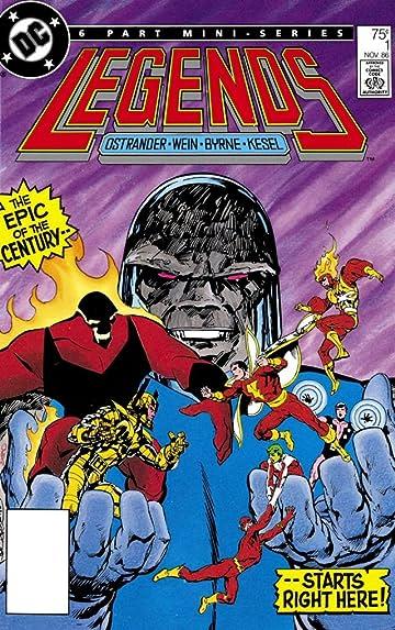 Legends (1986-1987) #1
