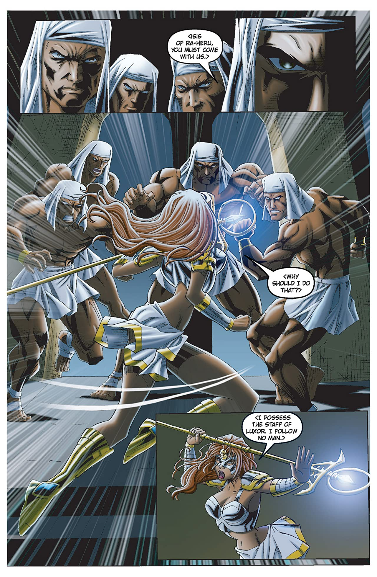 Legend of Isis Volume 6: Tony and Cleo #1