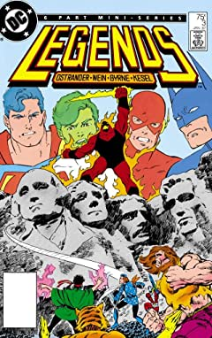 Legends (1986-1987) #3