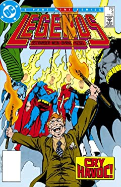 Legends (1986-1987) #4