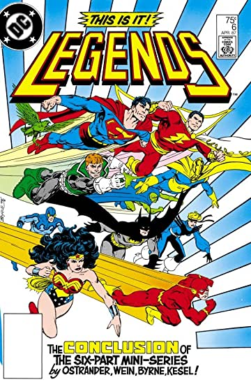Legends (1986-1987) #6