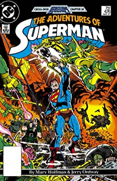 Adventures of Superman (1986-2006) No.426