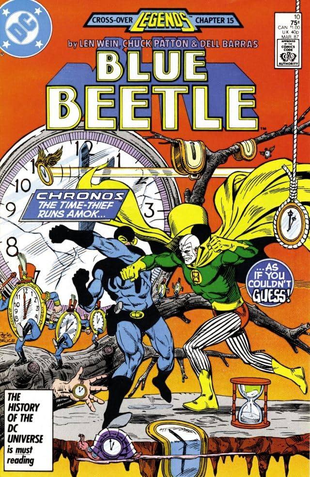 Blue Beetle (1986-1988) #10