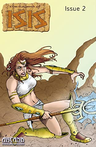 Legend of Isis Volume 8: The First Flight of Horus #2