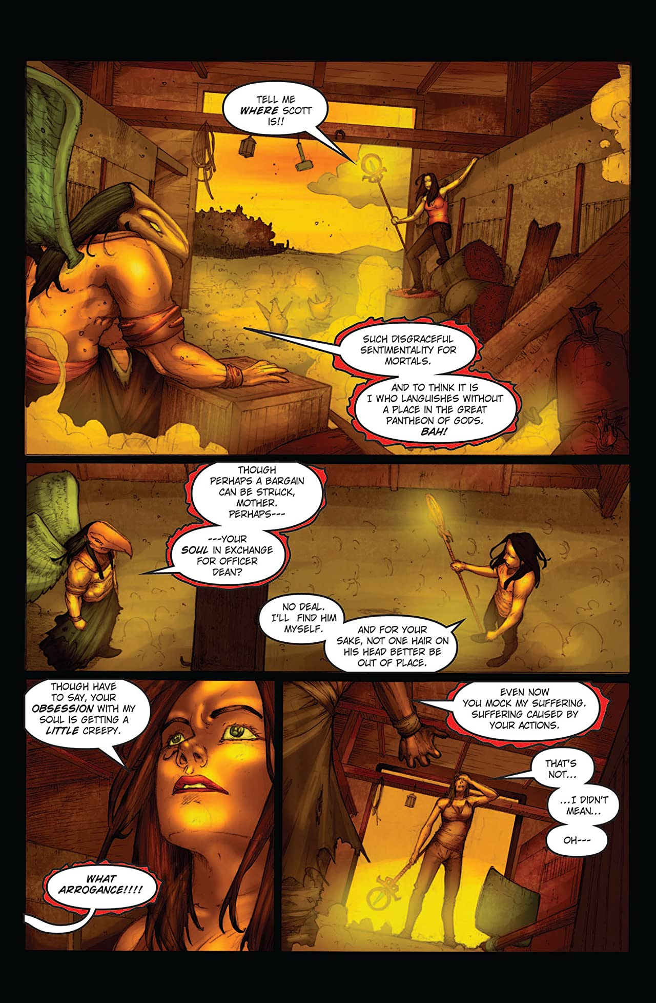 Legend of Isis Volume 8: The First Flight of Horus #3