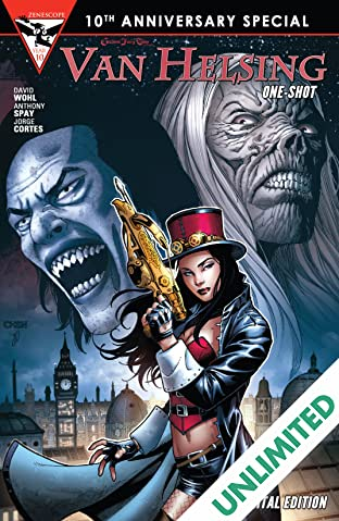Grimm Fairy Tales 10th Anniversary One Shot - Helsing