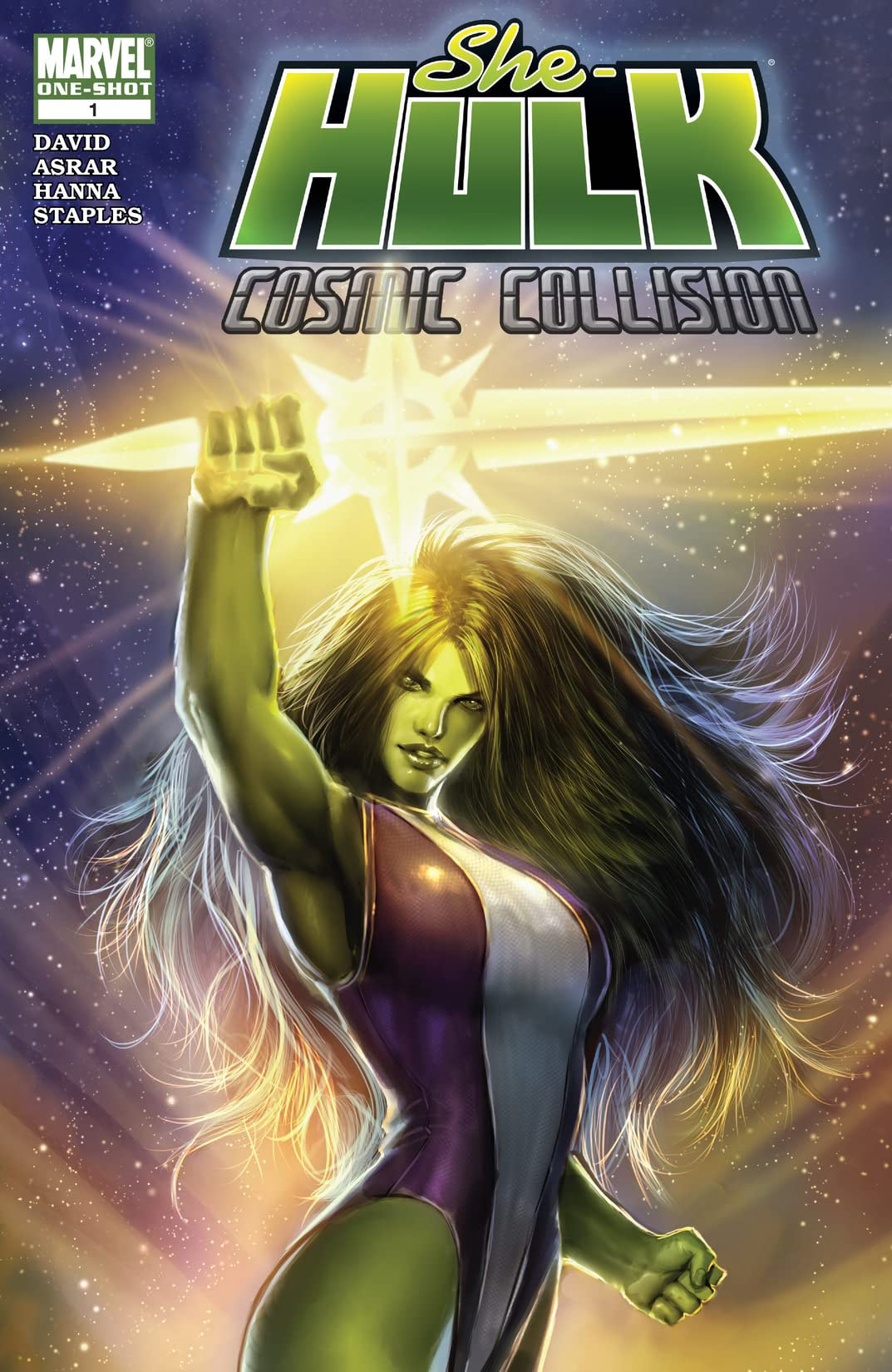 She-Hulk: Cosmic Collision (2008) #1