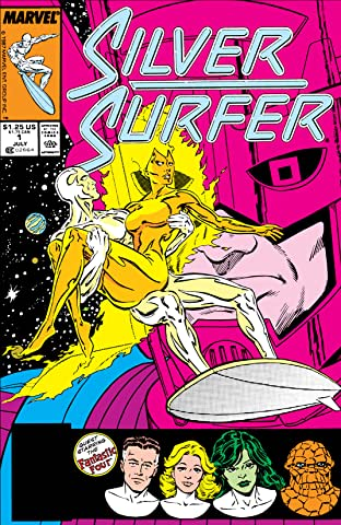 Silver Surfer (1987-1998) No.1