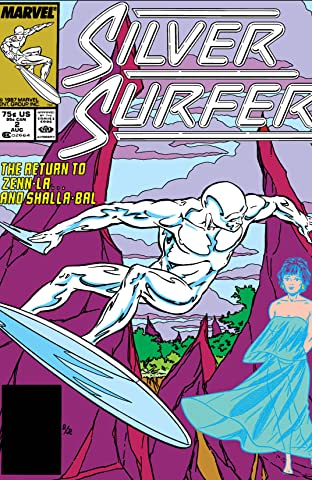 Silver Surfer (1987-1998) No.2