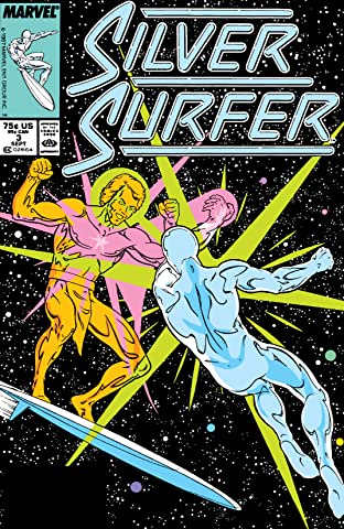 Silver Surfer (1987-1998) No.3
