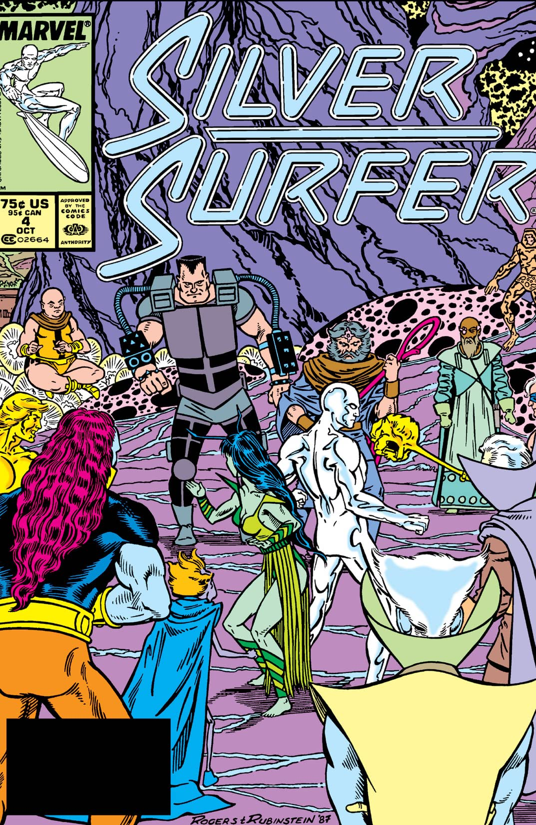 Silver Surfer (1987-1998) #4