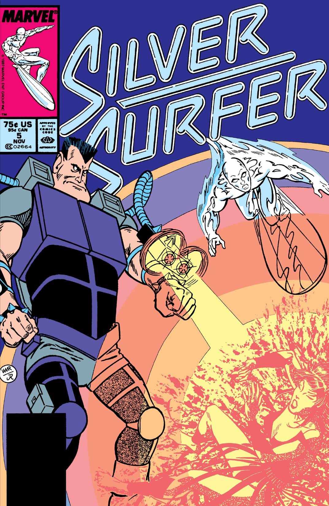 Silver Surfer (1987-1998) #5