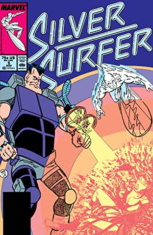 Silver Surfer (1987-1998) No.5