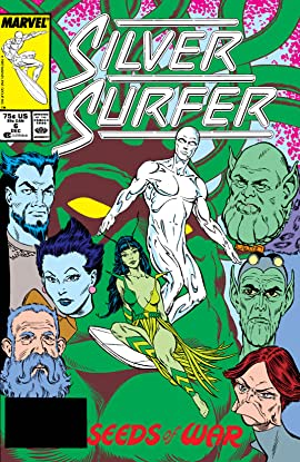 Silver Surfer (1987-1998) #6