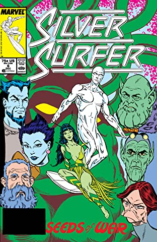 Silver Surfer (1987-1998) No.6