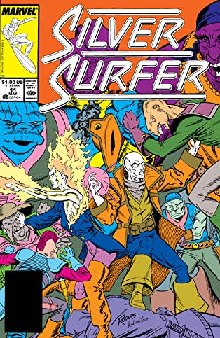 Silver Surfer (1987-1998) #11