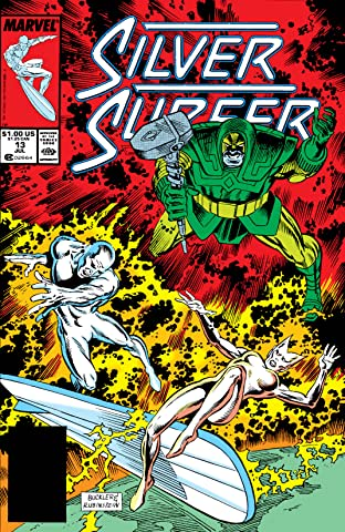 Silver Surfer (1987-1998) No.13