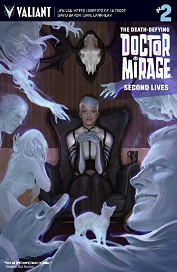 The Death-Defying Dr. Mirage: Second Lives No.2: Digital Exclusives Edition